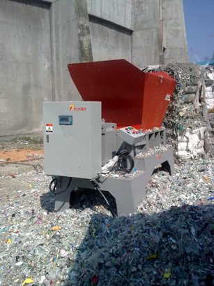 twin shaft shredder