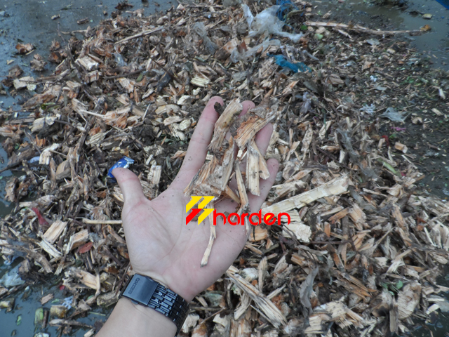 organic waste shredder line